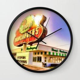 """""""Burger Dreams"""" Wall Clock"""