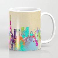 paris Mugs featuring paris by mark ashkenazi