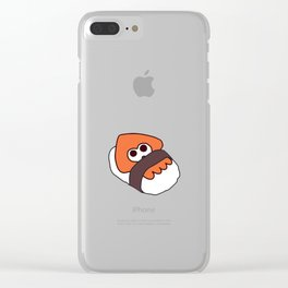 Sushi Squid Clear iPhone Case