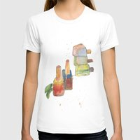 nail polish T-shirts featuring Nail Polish by Alia