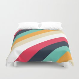 Color Pattern 1 Duvet Cover