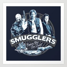 Smugglers Three Art Print