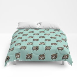 Cat Loaf - Brown Tabby Kitty Comforters