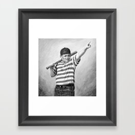 The Great Hambino Framed Art Print