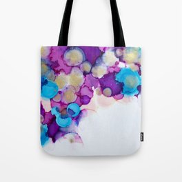 Innocence Alcohol Ink Painting Tote Bag