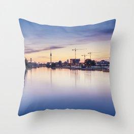 Berlin Sunset Throw Pillow