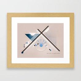 little eye Framed Art Print