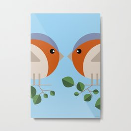 There can be only one | Robins Metal Print