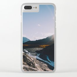 Glacial Meltwater Sunrise - Kenai Fjords National Park Clear iPhone Case