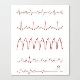 ahhhh we are good chill the fuck out i got this on fuck oh fuck well shit doctor nurse Canvas Print