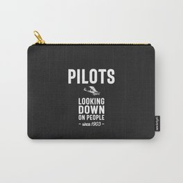 Pilots - Looking Down On People Since 1903 Carry-All Pouch