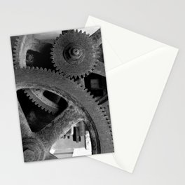 Big Gears Stationery Cards