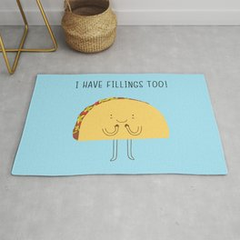 I have fillings too! Rug