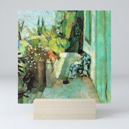 Henri Matisse Terrace at Saint Tropez Mini Art Print