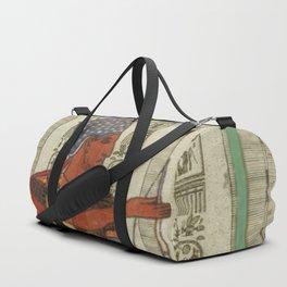 egyptian design man royal Duffle Bag