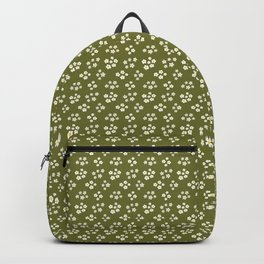 Calico Meadow Sage Green Backpack