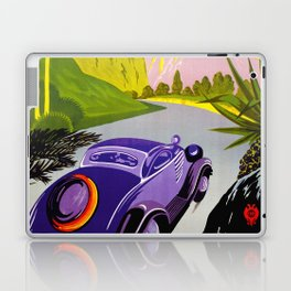 Visit Greece in Auto Travel Laptop & iPad Skin