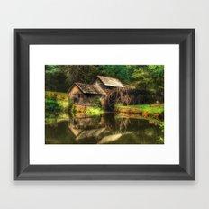 Mabry Mill Framed Art Print