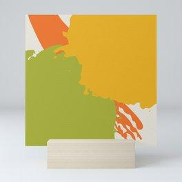 Colorful Brush Strokes AP176-6 Mini Art Print