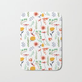 Rustica #illustration #pattern Bath Mat