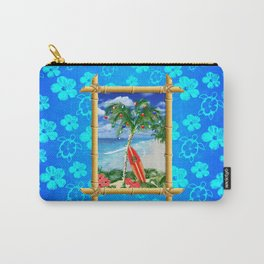 Beach Christmas Carry-All Pouch