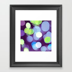 Purple Light Framed Art Print