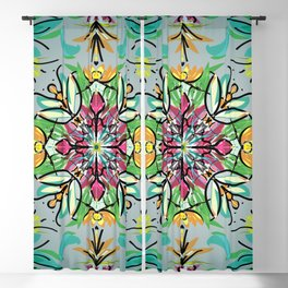 Bug deco 1b Blackout Curtain