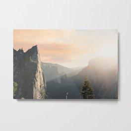Mountains landscape 4 Metal Print