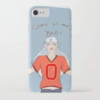 inuyasha iPhone & iPod Cases featuring Come at me, Little Brother.  by Dheerse
