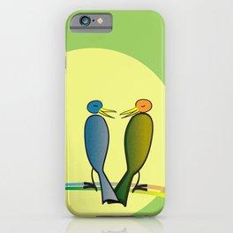 He Said, She Said iPhone Case