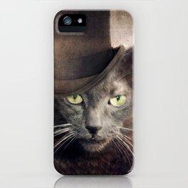 Captain Grey iPhone Case