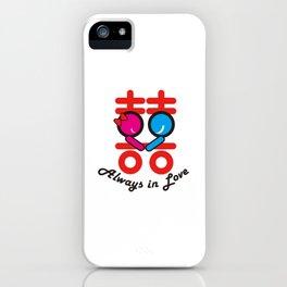 Always ln Love iPhone Case
