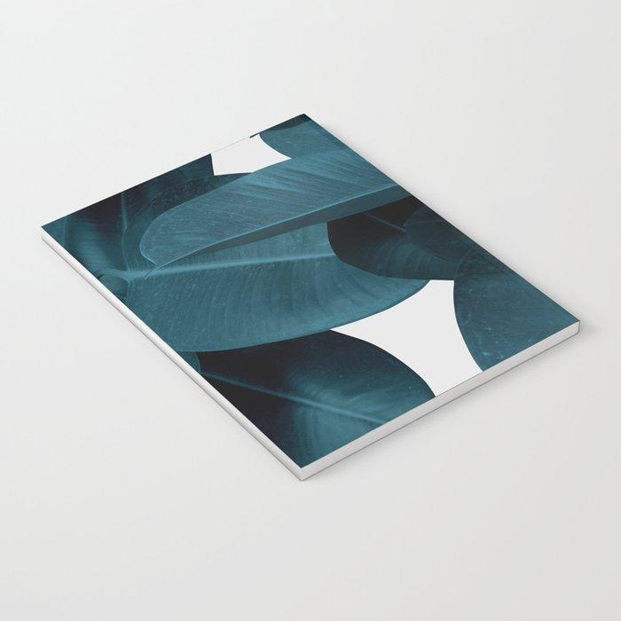 Indigo Plant Leaves Notebook