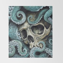 Please my love, don't die so far from the sea... Throw Blanket
