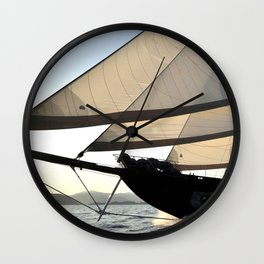 sailboat Wall Clock