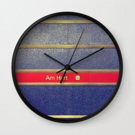Munich U-Bahn Memories - Am Hart Wall Clock