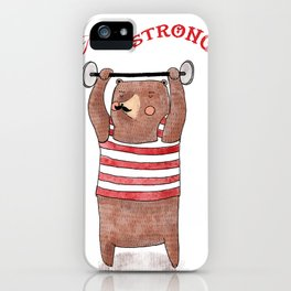 I am strong iPhone Case
