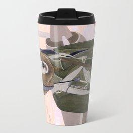 Aviator Bear Travel Mug