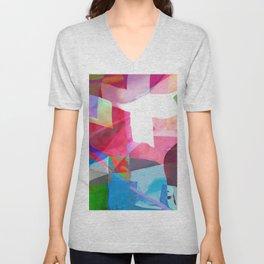 swissflag collage colorful Unisex V-Neck