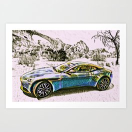 Travel In Style Collection Art Print