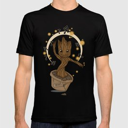 Groovy baby Groot T-shirt