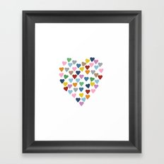 Hearts Heart Framed Art Print