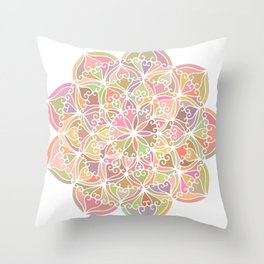Mandala 03 Throw Pillow