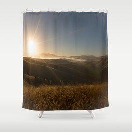 Sunrise Sunshine Shower Curtain