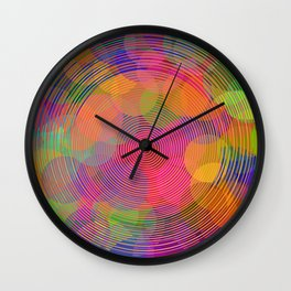 Hypnotic Wall Clock