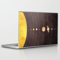 solar system Laptop & iPad Skins featuring Solar System by Annisa Tiara Utami