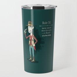 Rule 30 Travel Mug