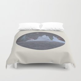 The Lonely Polarcorn Duvet Cover