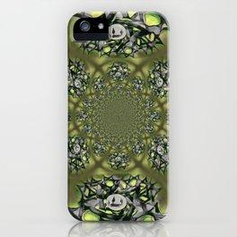 Chai Mandala - Green Mist iPhone Case