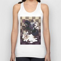 hetalia Tank Tops featuring The Game of Checkmate by jali-jali